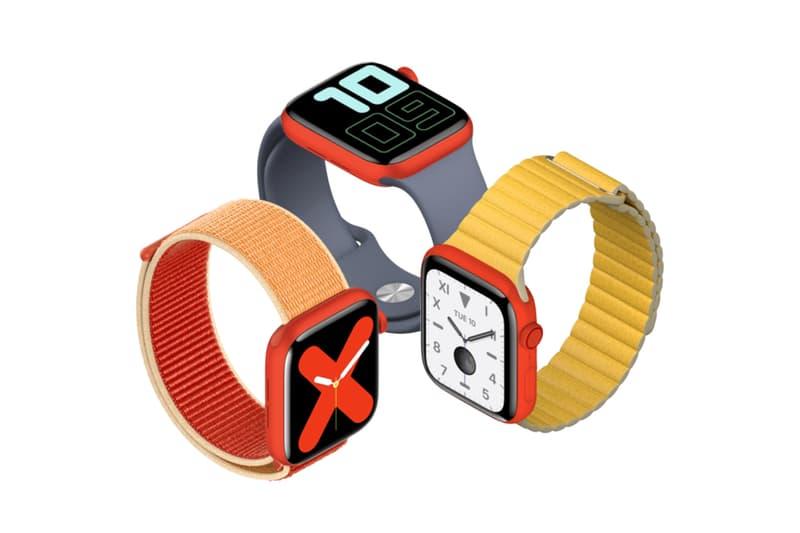 Apple Watch Series 5(PRODUCT)RED™ 版本或將於今季度首次登場