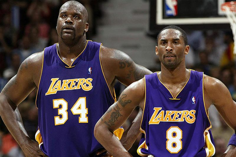Shaquille O'Neal 宣稱聯手 Kobe 將擊敗 LeBron James、Anthony Davis 組合