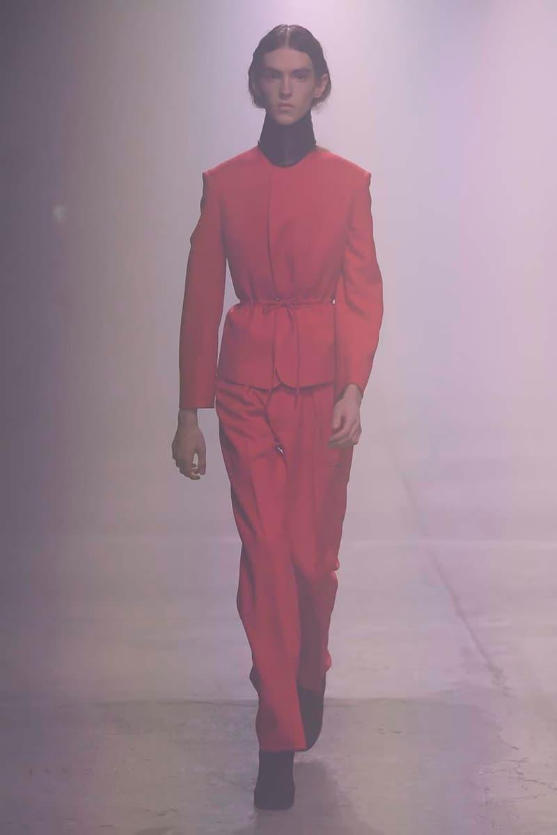 Pitti Uomo 97 男裝展 - Stefano Pilati 2020 秋冬系列時裝大秀