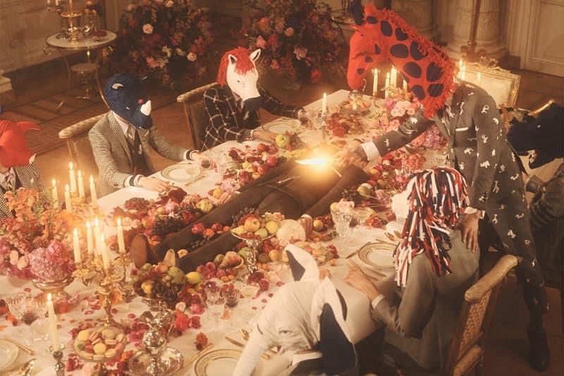 巴黎時裝周 − Thom Browne 2020 冬季系列時裝大秀