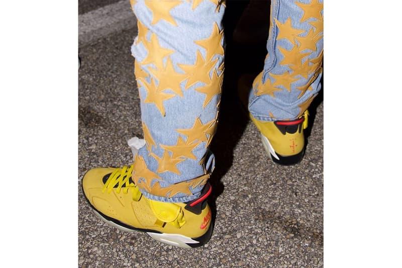 Travis Scott x Air Jordan 6 全新配色「Yellow Cactus Jack」發售日期曝光