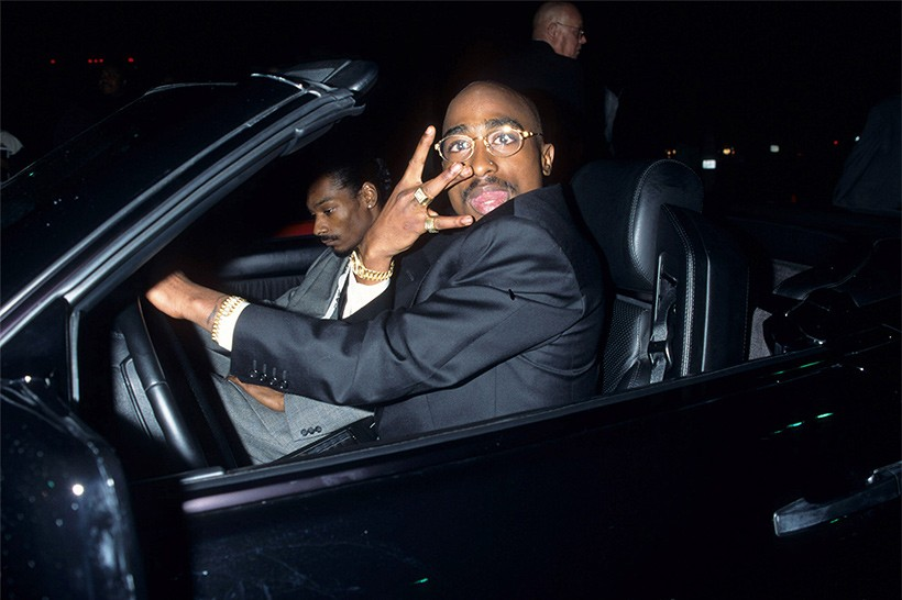 Tupac 遭槍殺時乘坐之 1996 年樣式 BMW 750iL 現正展開拍賣
