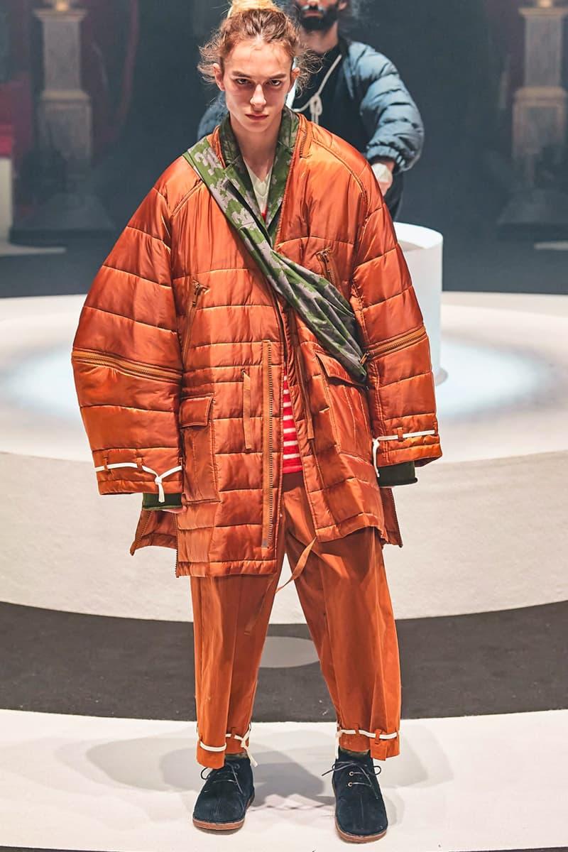 巴黎時裝周 - UNDERCOVER 2020 秋冬系列時裝大秀