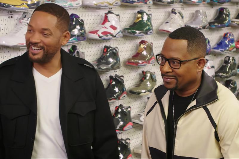 Will Smith 與 Martin Lawrence 作客全新一期《Sneaker Shopping》
