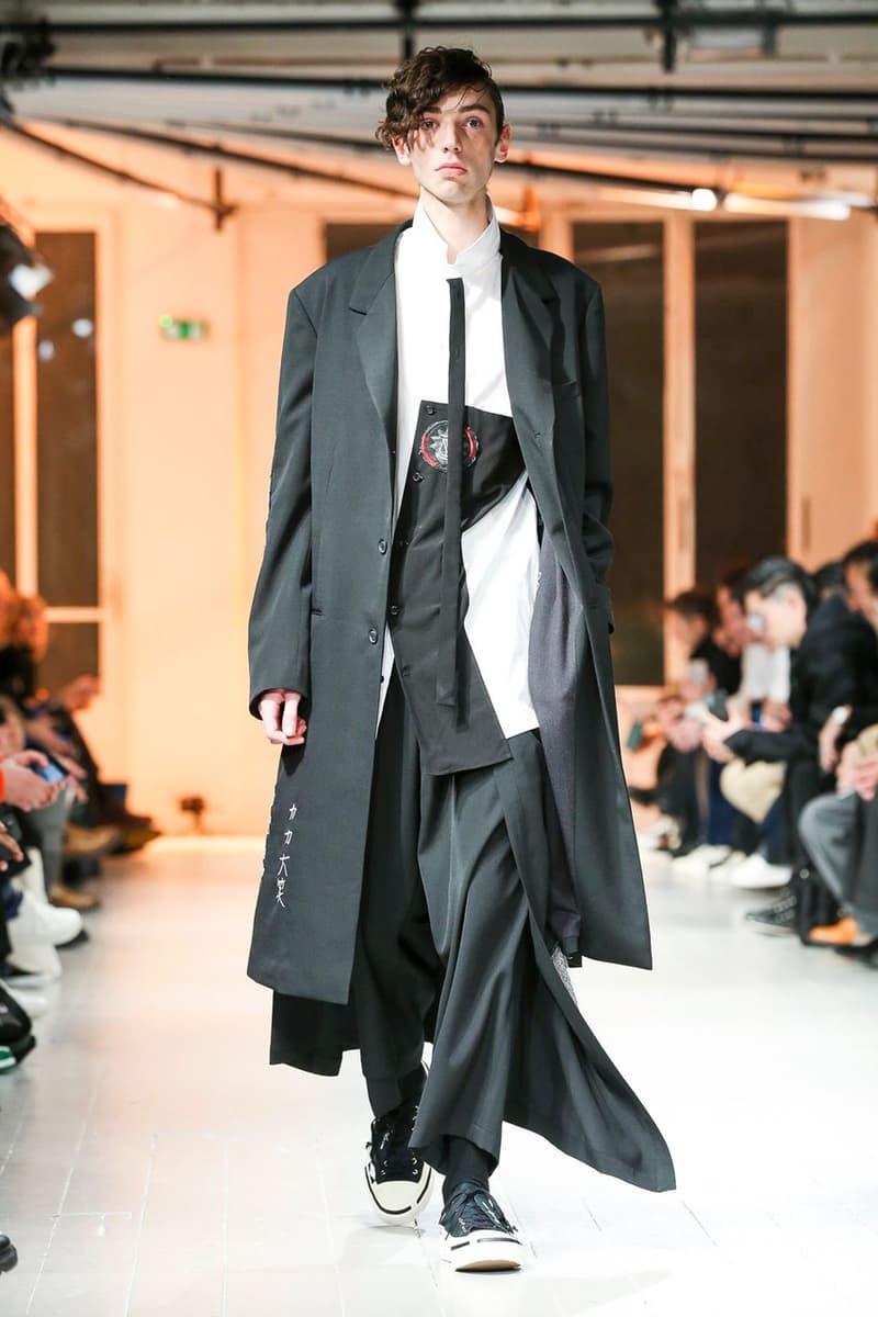 巴黎時裝周 − Yohji Yamamoto 2020 秋冬系列大秀登場