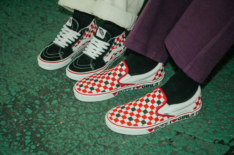 Vans 释出全新「爱就完事儿了」情人节系列鞋款