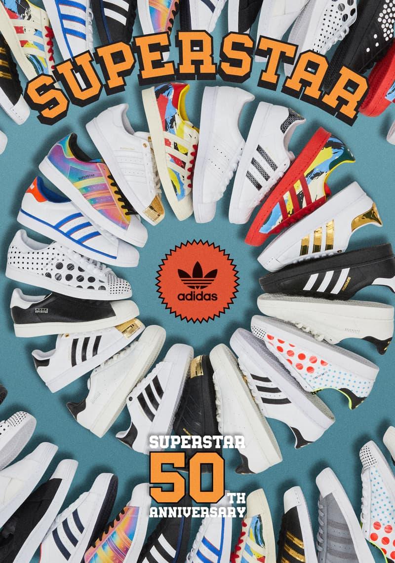 adidas Originals 发布 Superstar 50 周年特别鞋款
