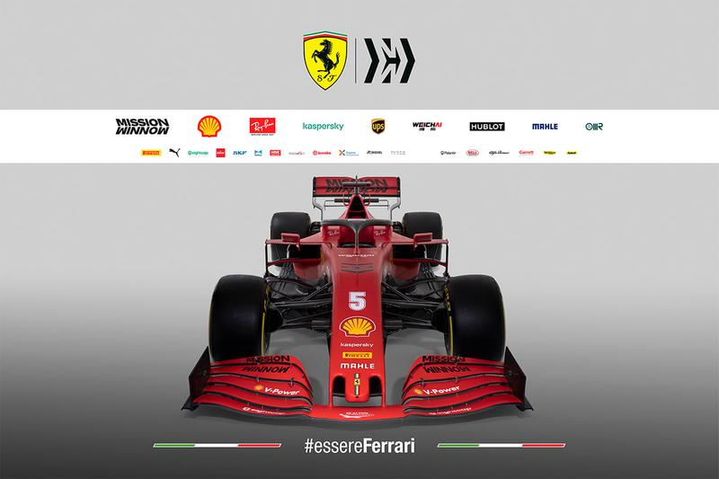 Ferrari 公佈 2020 年全新 F1 戰車 SF1000