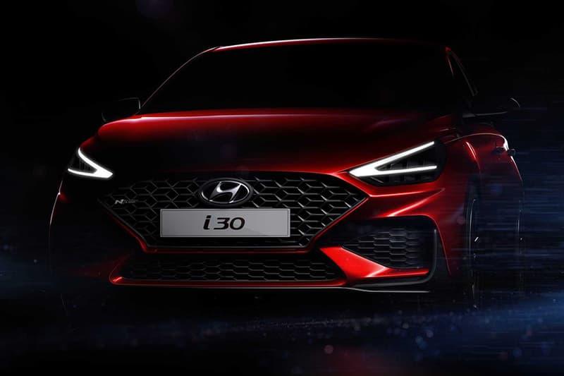 Hyundai 發表高性能鋼炮 i30 N 小改款外觀預告圖片