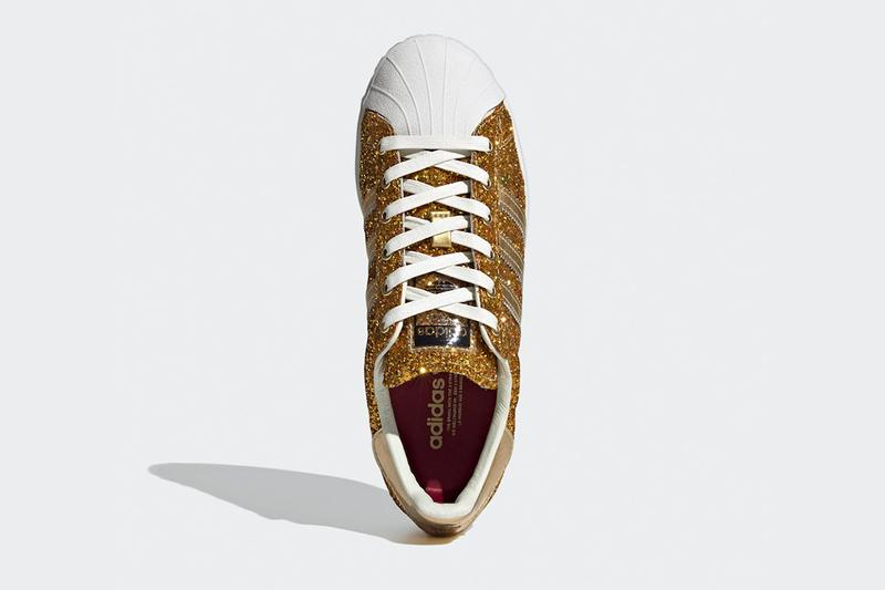 adidas Originals Superstar 全新 24 克拉鍍金別注版本發佈