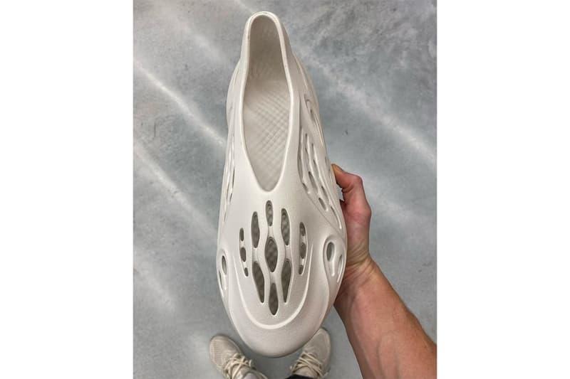 「洞洞鞋」YEEZY Foam Runner 細節近賞圖片曝光