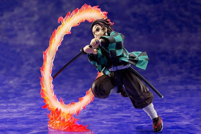 Aniplex 發佈《鬼滅の刃》竈門炭治郎「火之神神樂」別注可動式模型