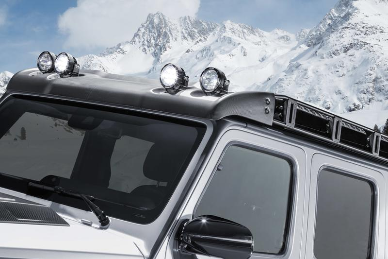 Brabus 打造 Mercedes-AMG G63 全新 Pick-up 改裝車型