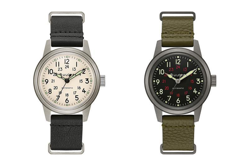Bulova 復刻推出二戰時期經典 Hack Watch 軍錶
