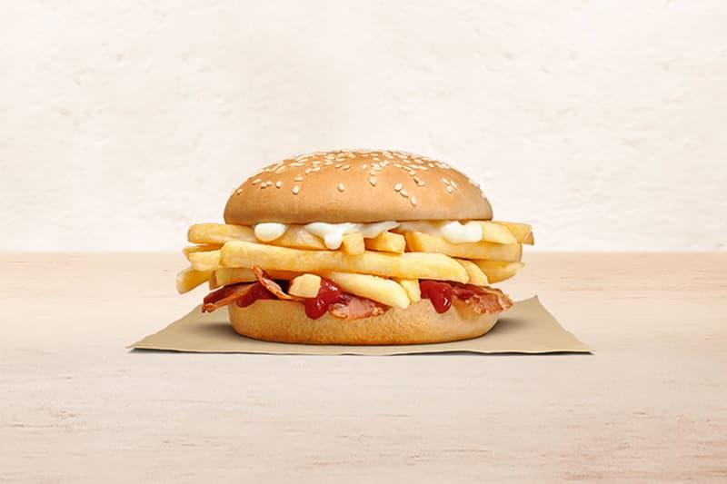 薯條狂熱者必嚐!紐西蘭 Burger King 推出「純薯條漢堡」