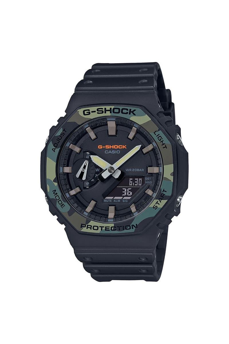 G-SHOCK 推出 DW-5600 和 GA-2000 全新配色「Utility」別注腕錶