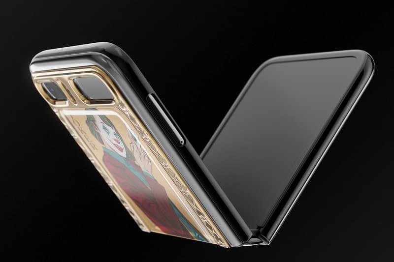 Caviar 推出要價 $5,210 美元別注 Samsung Galaxy Z Flip 摺疊智慧手機