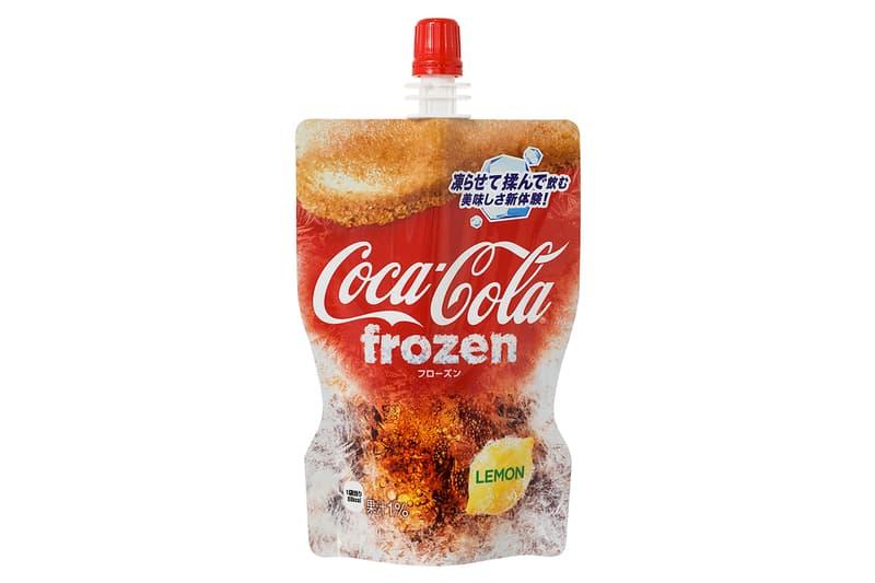 「新食感」再臨!日本 Coca-Cola 推出檸檬口味可樂冰沙