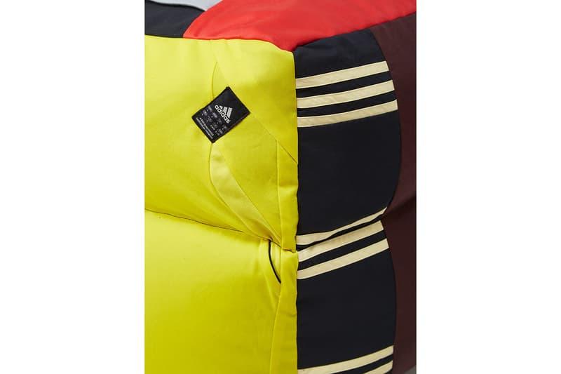 LN-CC 攜手 Dr. Romanelli 回收 adidas 古着運動裝打造懶人沙發組