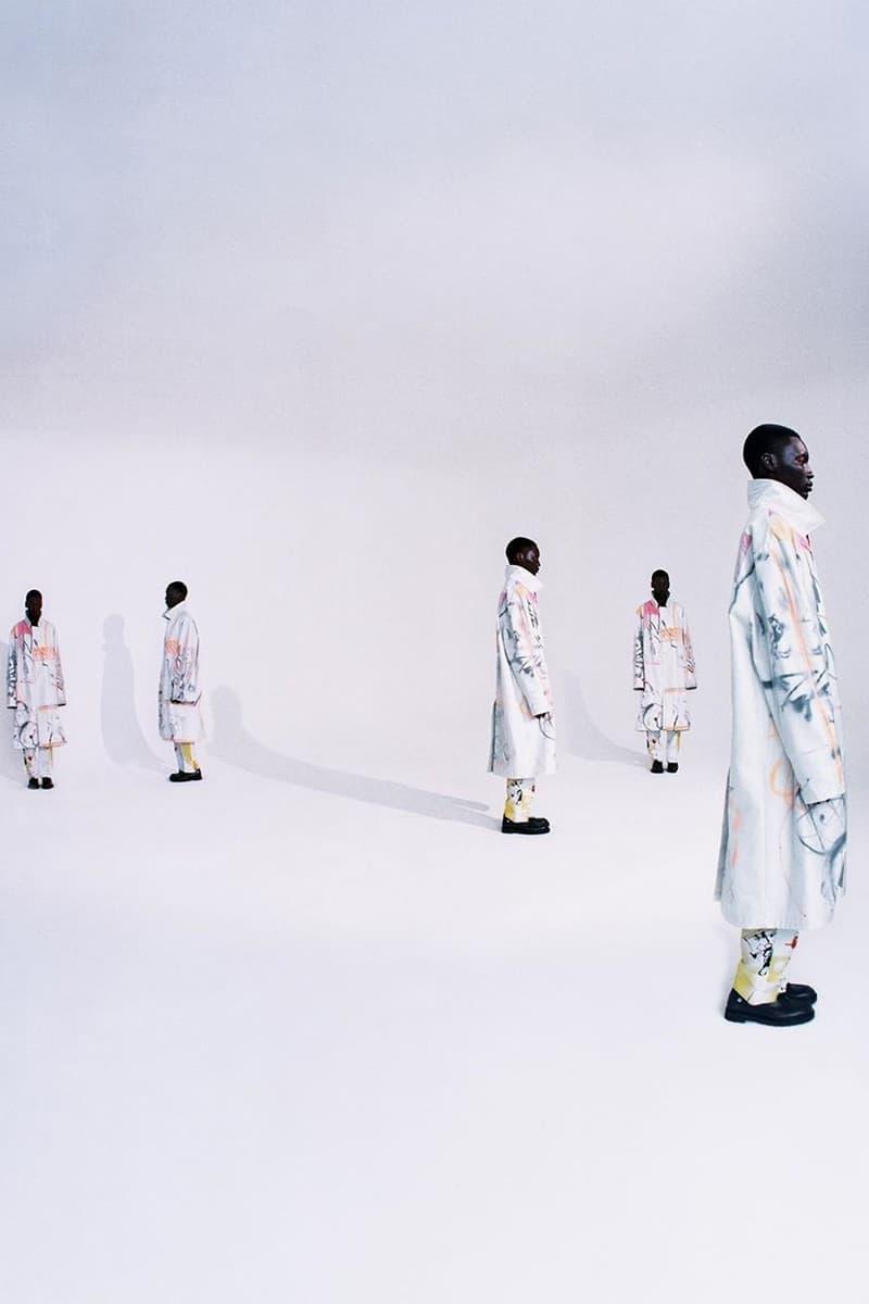 Off-White™ x  Futura 最新聯名系列 Lookbook 正式發佈
