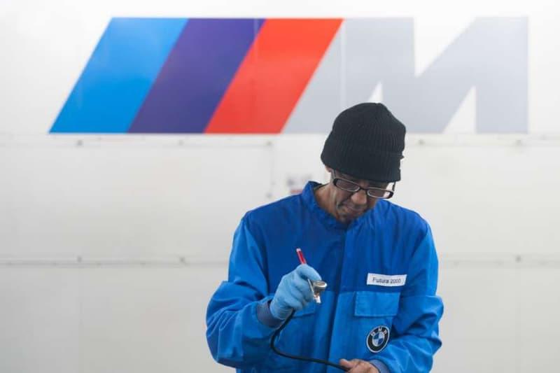 塗鴉賽車 - Futura 親自揭示全新 BMW M2 聯乘塗裝企劃