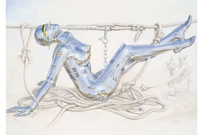 Sexy Robot 最新作!「械慾」藝術大師空山基全新藝展即將開催