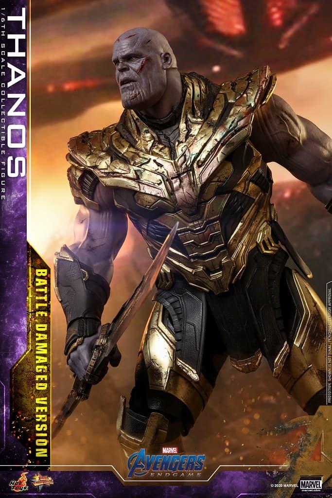 窮兇極惡!Hot Toys 推出全新 1:6 比例《Avengers:Endgame》Thanos 戰損版珍藏人偶