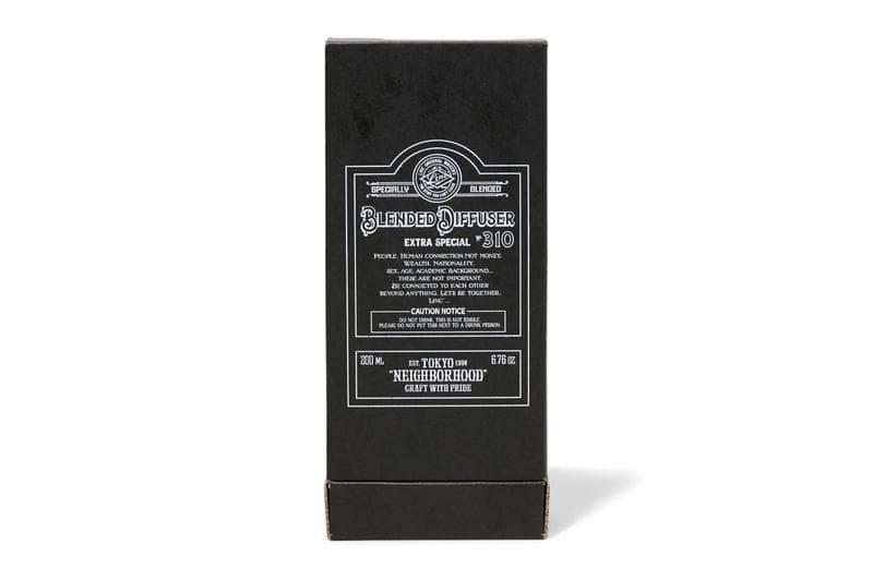 NEIGHBORHOOD 帶來威士忌酒瓶外型的香座