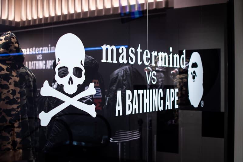 率先走進 mastermind JAPAN x A BATHING APE® 伊勢丹新宿期間限定店