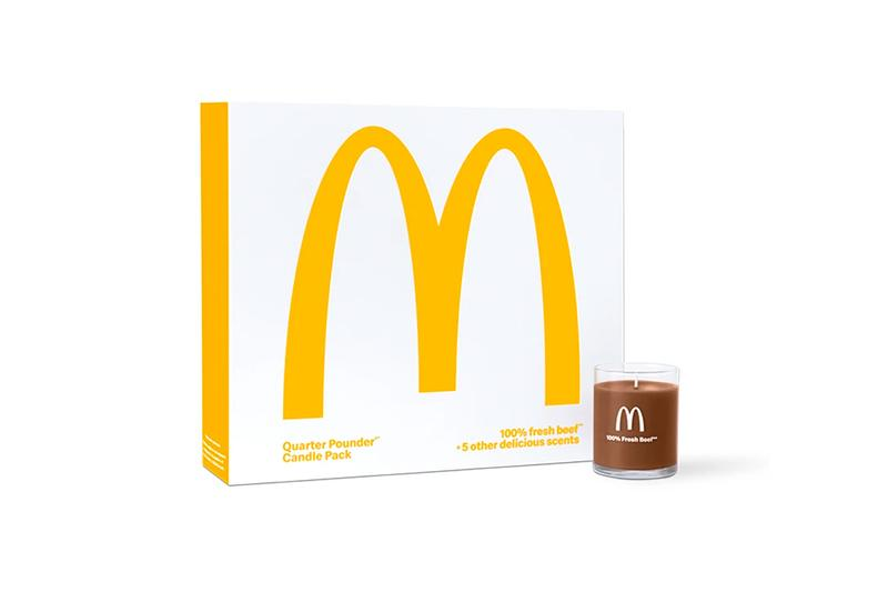 McDonald's 以漢堡包組合推出限量版香薰蠟燭套裝