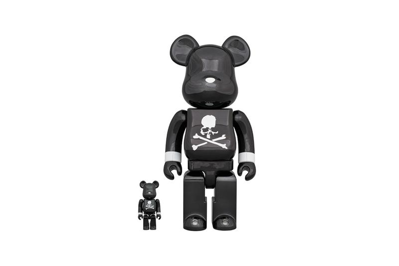 Medicom Toy x mastermind JAPAN 最新聯乘「Black Chrome」BE@RBRICK 發佈