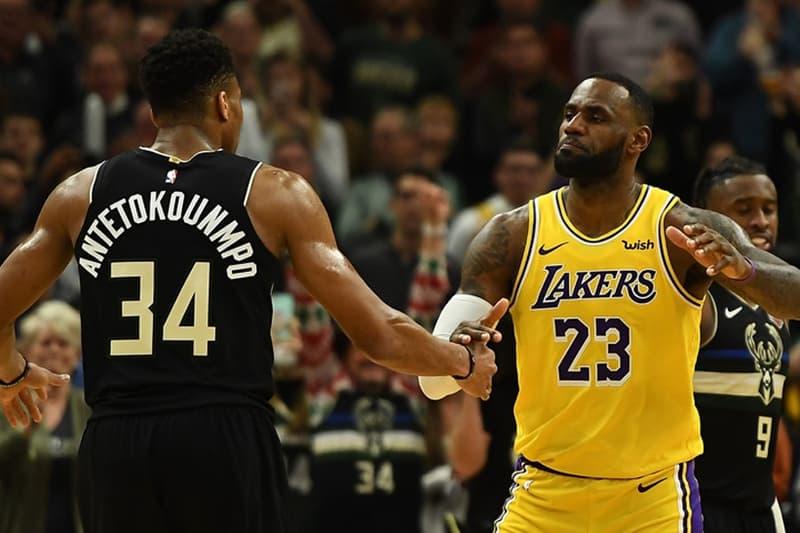 NBA 2020 全明星賽 LeBron James、Giannis Antetokounmpo 兩隊陣容正式出爐
