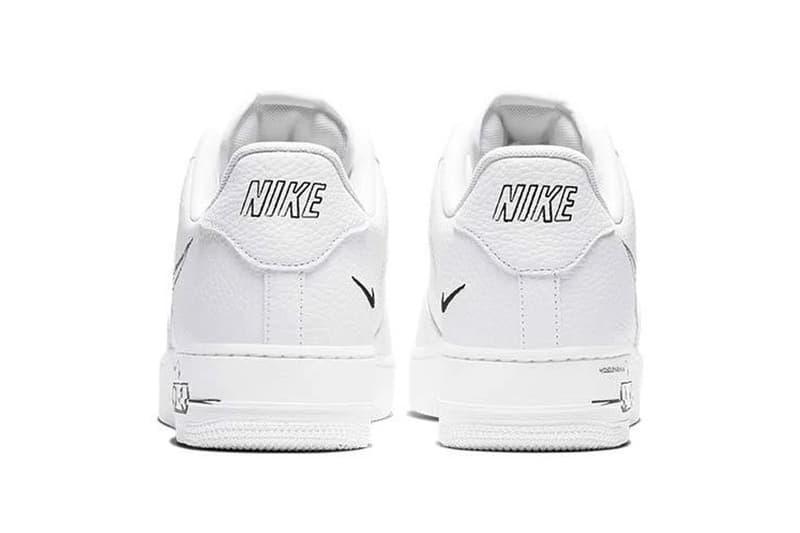 Nike Air Force 1 與 Blazer 推出全新「Sketch」手繪風格鞋款