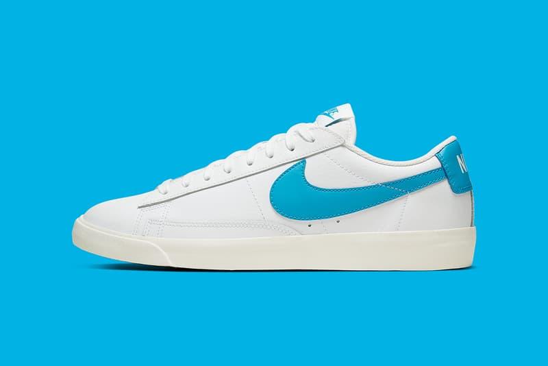 Nike Blazer Low Leather 全新配色「UNC Blue」即將發售