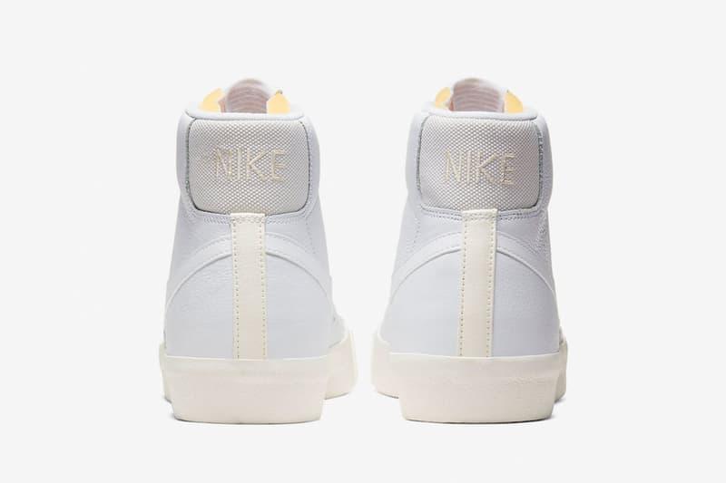 Nike Blazer Mid '77 Vintage 最新配色「White/Sail-Platinum Tint」發佈