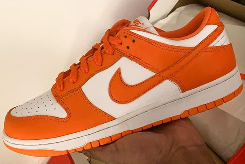 Nike Dunk Low「Syracuse」雪城大學配色或將復刻回歸
