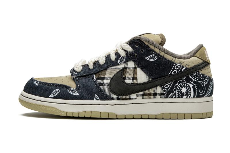 Travis Scott x Nike SB Dunk Low 全新聯名鞋款高清圖輯曝光