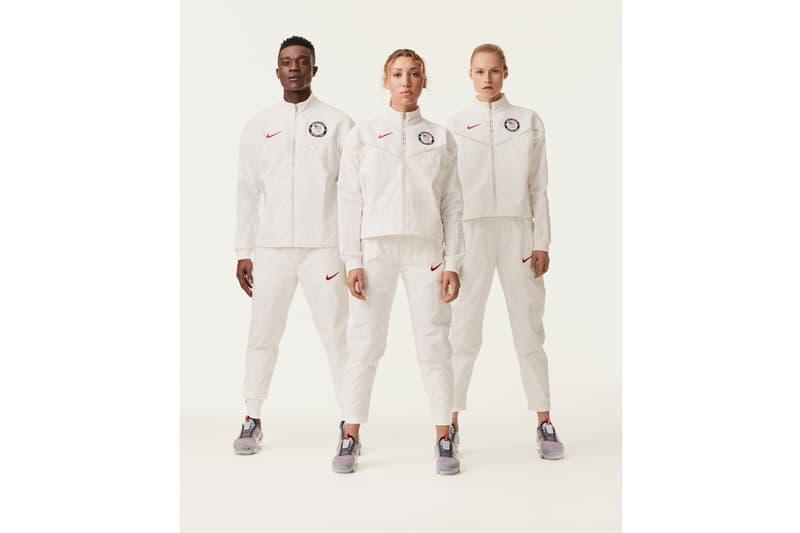 純白戰袍 - Nike 正式揭露 2020 東京奧運美國隊受獎隊服