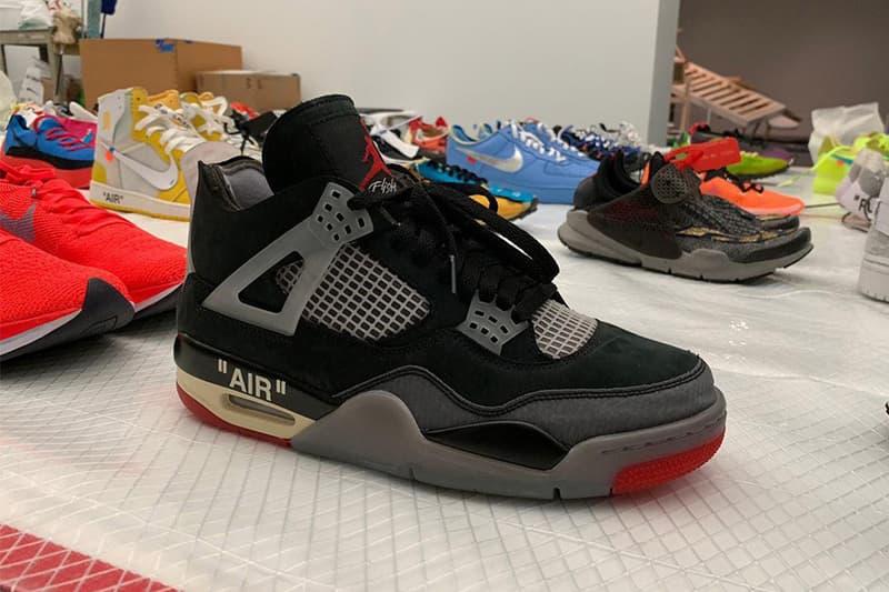 消息稱 Off-White™ x Air Jordan 4 經典配色「Bred」或將迎來發售