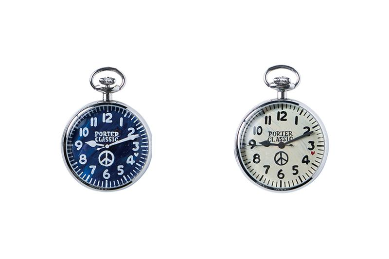 PORTER CLASSIC Blue Face White Face Pocket Watch