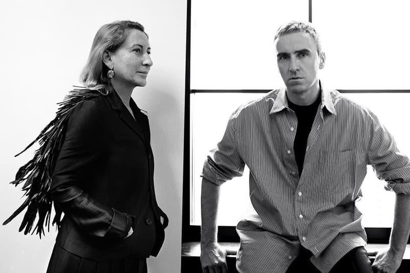 Prada 正式宣佈 Raf Simons 加入擔任聯合創意總監