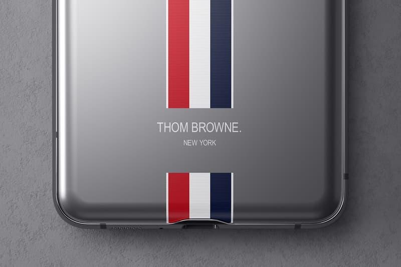 Samsung x Thom Browne 全新聯名摺疊手機 Galaxy Z Flip 正式登場
