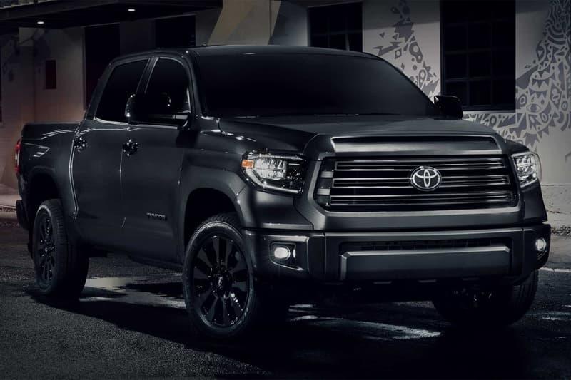Toyota 推出 Tacoma、Tundra、Sequoia 車型「Nightshade」別注版本