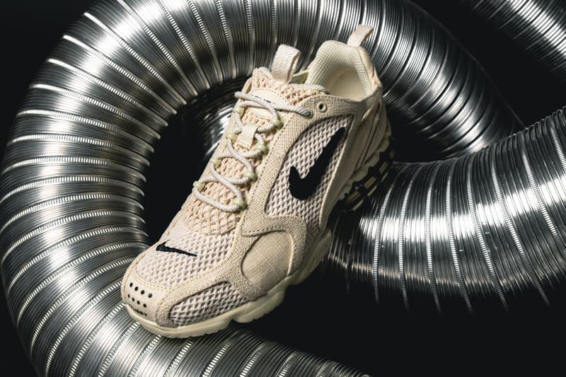 搶先近賞 Stüssy x Nike Air Zoom Spiridon Caged 2 聯乘鞋款