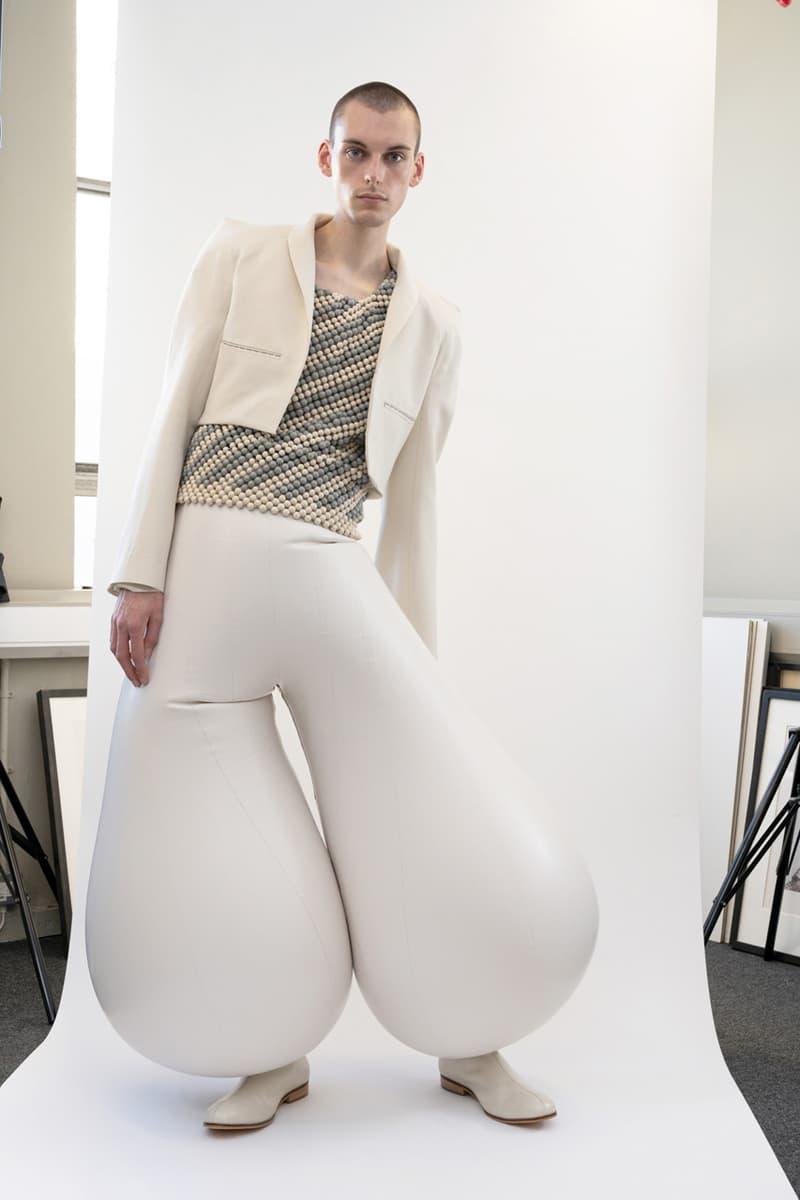 专访设计师 Harikrishnan: Inflatable Trouser「充气乳胶裤」背后的创作故事