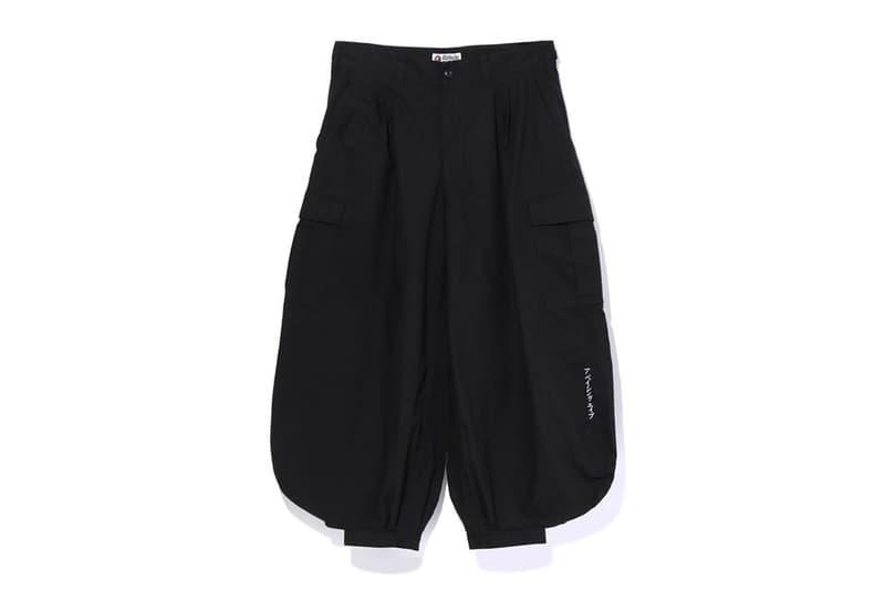 重塑寅壱鳶服-A BATHING APE® 推出自家版本 Tobi 褲款
