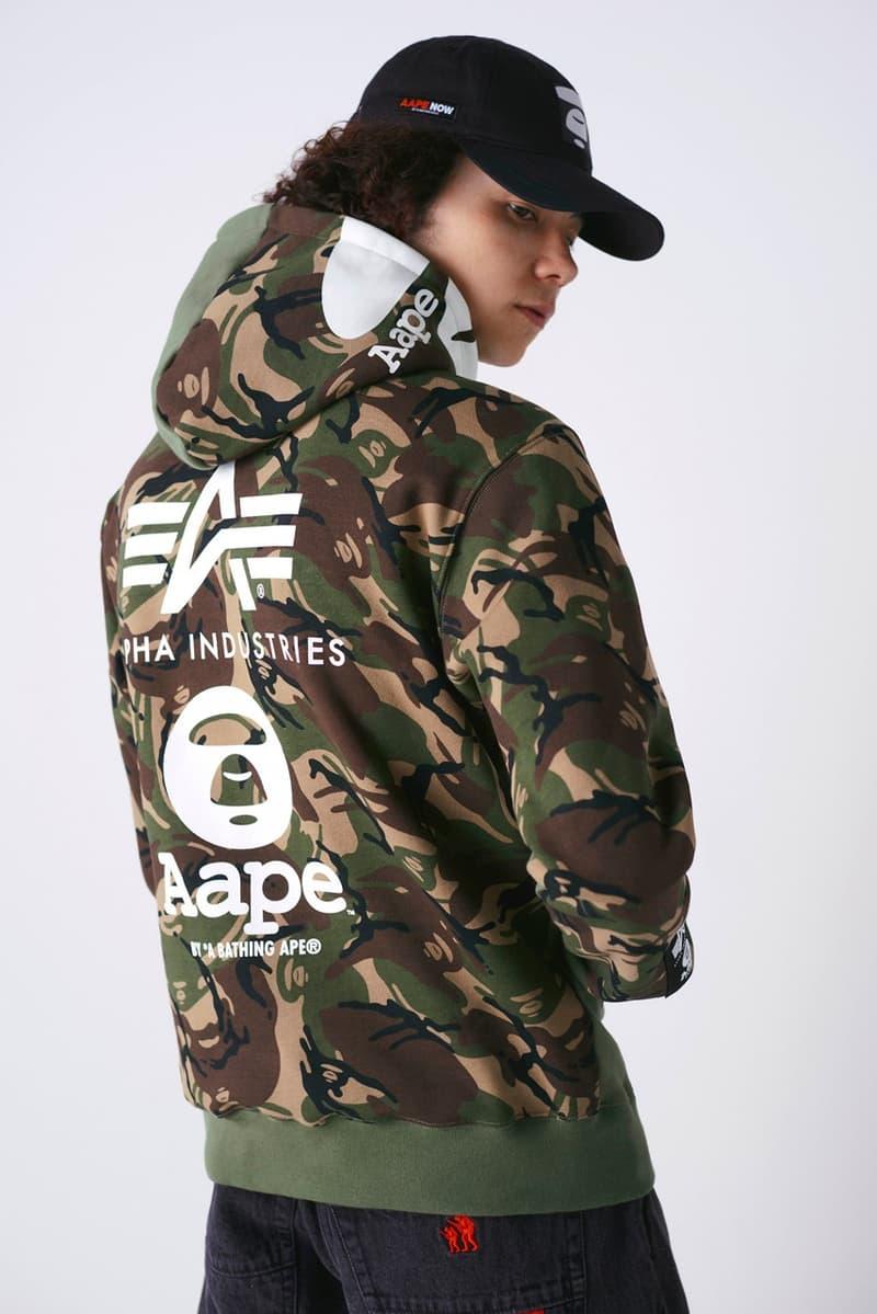 AAPE BY *A BATHING APE® x Alpha Industries 最新 2020 春夏聯乘系列發佈