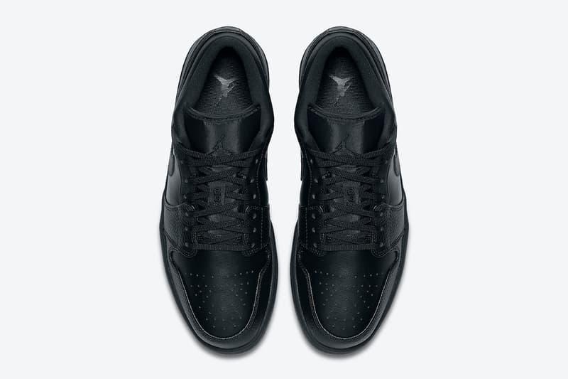 Air Jordan 1 Low、Mid 人氣「Triple Black」配色即將上架