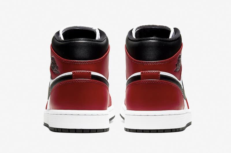 經典拼合-Air Jordan 1 Mid 推出全新「Chicago Black Toe」配色