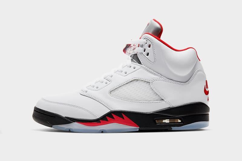Air Jordan 5 最新配色「Fire Red」官方圖輯、發售日期正式公開
